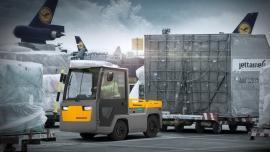Nowy ciągnik Jungheinrich do transportu ciężkich ładunków