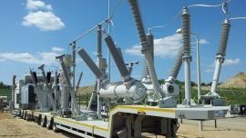 Mobilna stacja transformatorowo-rozdzielcza