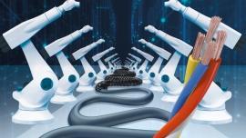 Przewód Ethernet 3D do szybkiej komunikacji z robotem