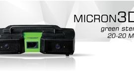 Światowa premiera skanera Micron3D green stereo 20–20 Mpix