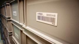 Etykiety RFID w pojemnikach wielokrotnego użytku