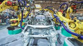 Roboty Fanuc w nowoczesnych fabrykach Volkswagena