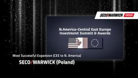 Nagrodzono amerykańską ekspansję Grupy Seco/Warwick