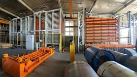 Automatyzacja składowania blach w firmie Perfopol