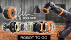 Nowy zestaw przekładni igus do innowacyjnych cobotów