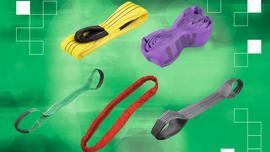 Zawiesia pasowe i okrągłe alternatywą dla lin i łańcuchów