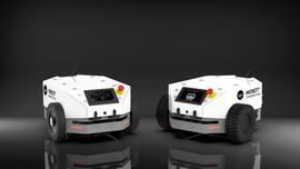 Transport z pomocą autonomicznych pojazdów mobilnych (AMR) wykorzystujących sztuczną inteligencję